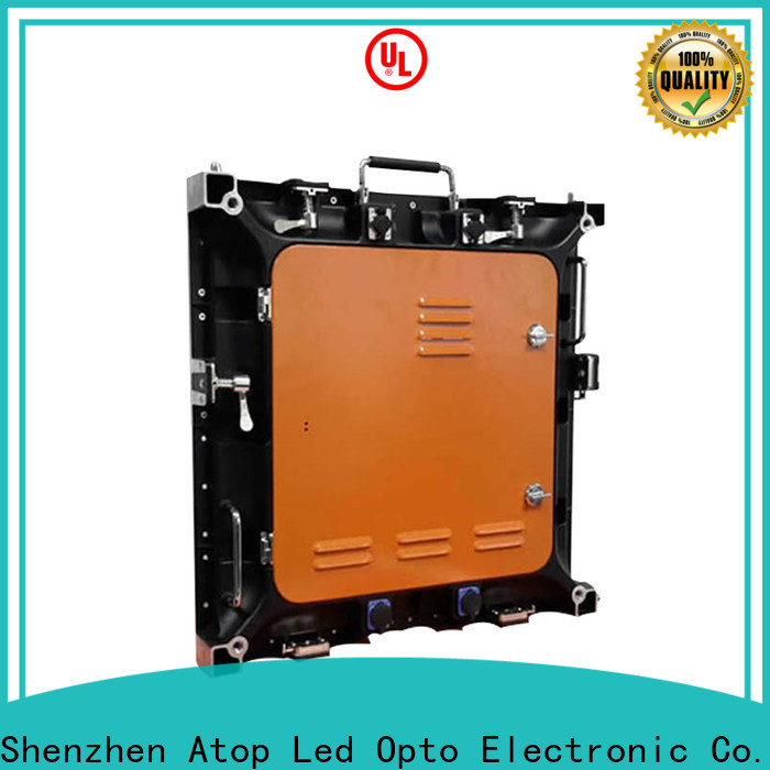 high-strength outdoor led display board outdoor easy maintenance for both outdoor and indoor