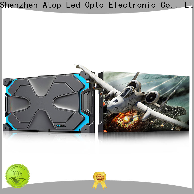 cost-effective led video screen video easy assembling