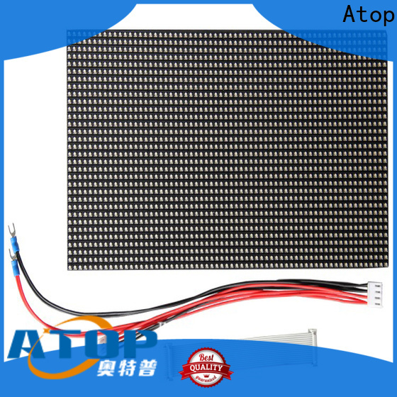 Atop online p6 led module easy operation for indoor rental led display