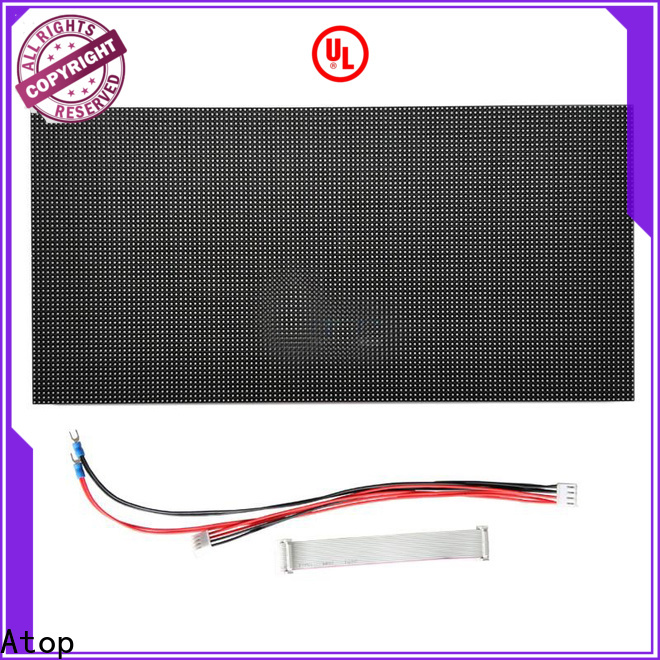 Atop screen p6 led module to meet different need for indoor rental led display