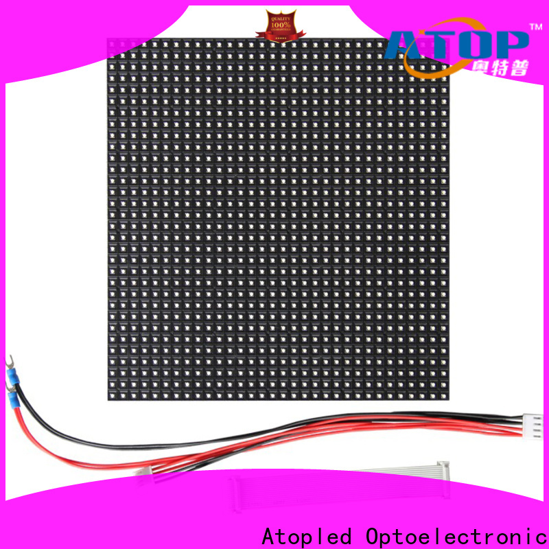 Atop high quality 12v led module to meet different need for indoor rental led display