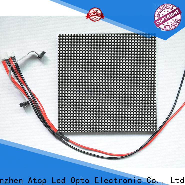 Atop size full color led module to meet different need in market