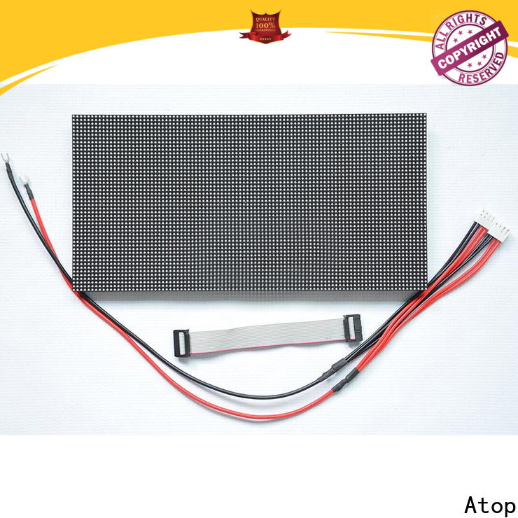 Atop color 12v led module to meet different need for advertising