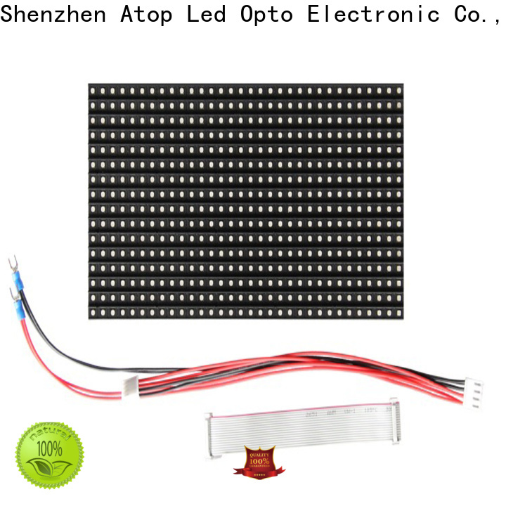 Atop online 12v led module with relaible quality for advertising