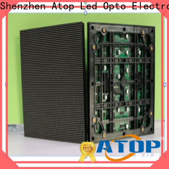 Atop online 100w led module with relaible quality for indoor rental led display