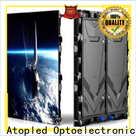 high quality full color led display installation to meet different need in market、