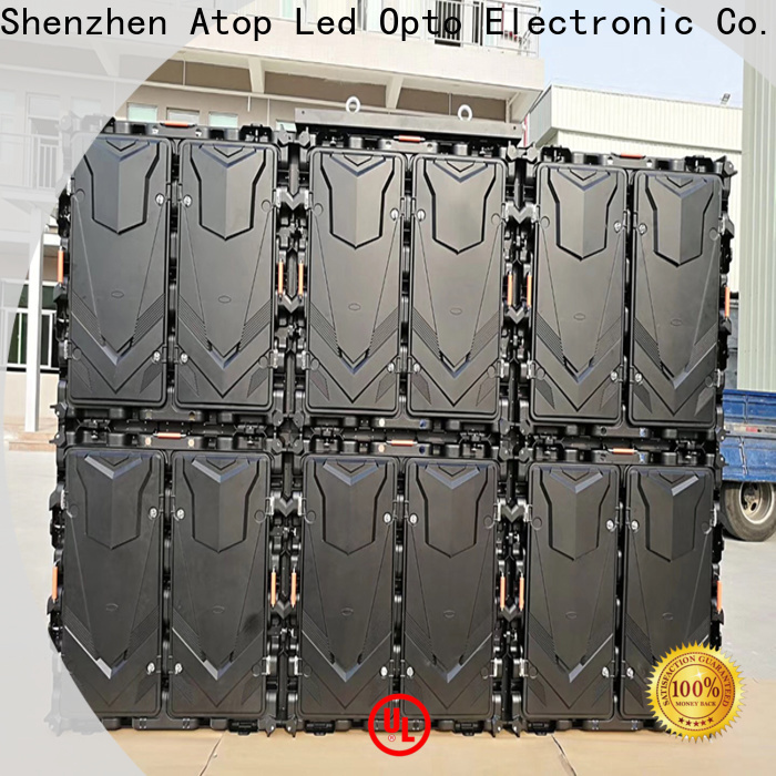 Atop outdoor p8 led display for display