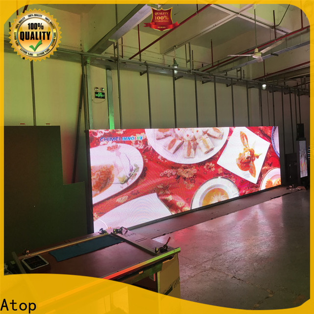 custom energy saving led screen with reliable quality for both outdoor and indoor