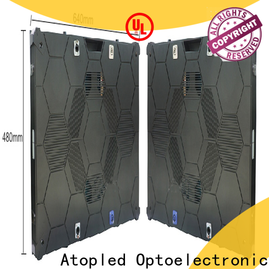 Atop priced-low small led display screen with best color uniformity in market