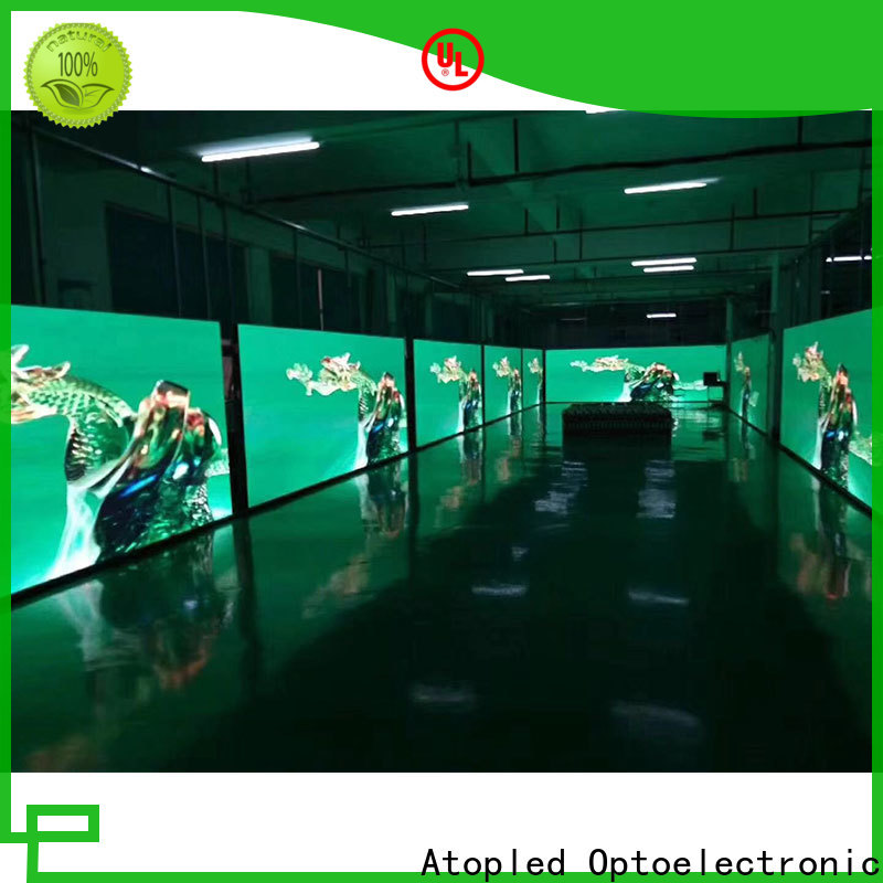 Atop wall led rental display with high-quality for LED screen