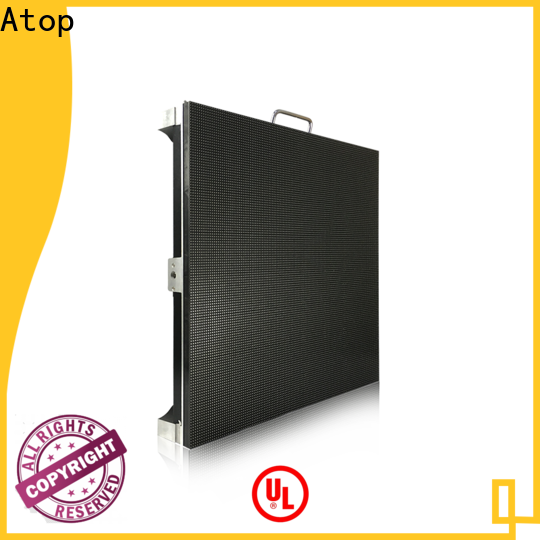Atop high-quality stage led display easy assembling for your led display applications