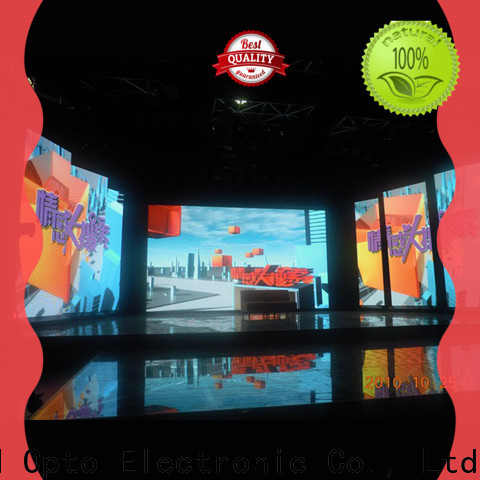 Atop excellent video wall rental easy assembling for LED screen