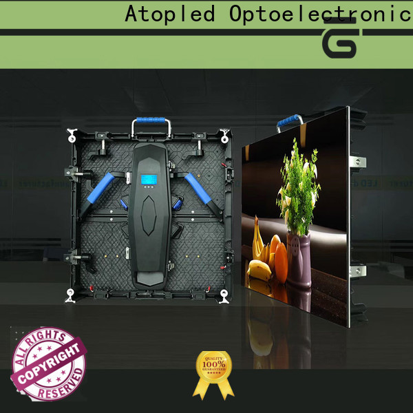 Atop portable video wall rental easy assembling