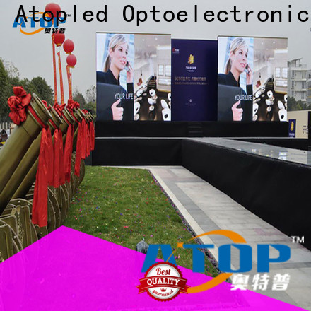 Atop highprecision mini led display easy assembling for indoor rental led display