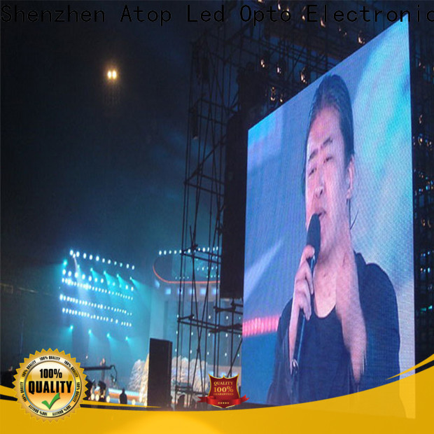 reliability stadium led display screen full with high precision in market