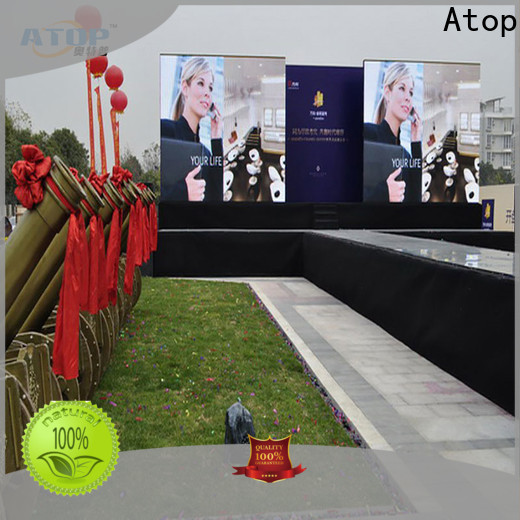 automatically led advertising board outdoor with high precision in market