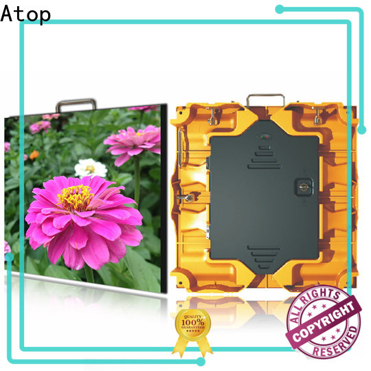 Atop billboard video display easy assembling for your led display applications