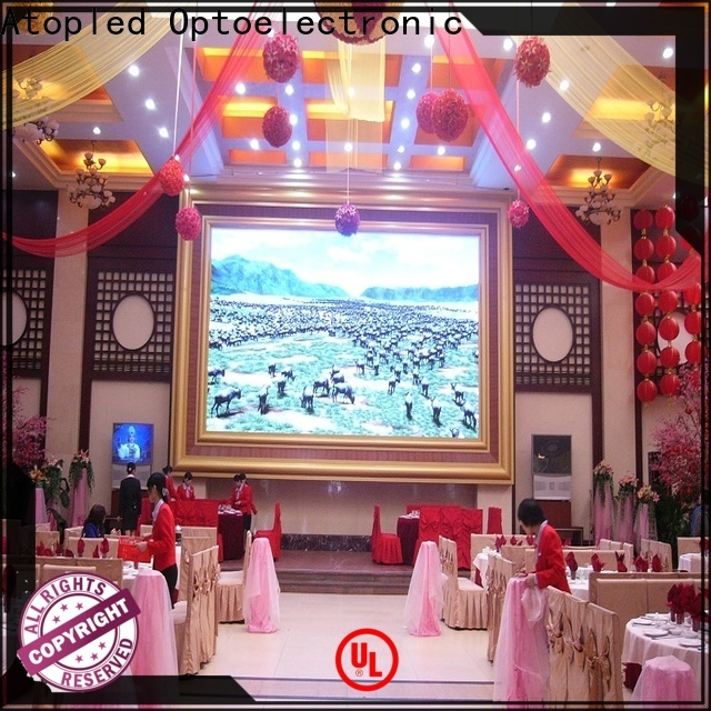 Atop favorable electronic advertising board with best color uniformity for indoor led display