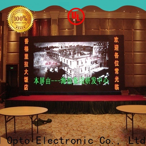 favorable video wall display fixed with best color uniformity for indoor led display