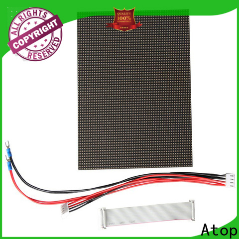 Atop customized 12v led module easy operation for indoor rental led display