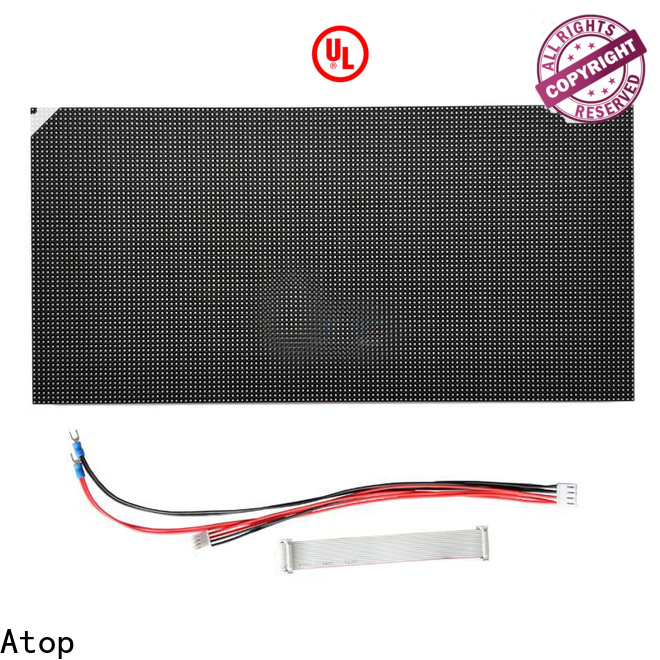 Atop high quality waterproof led module easy operation for advertising