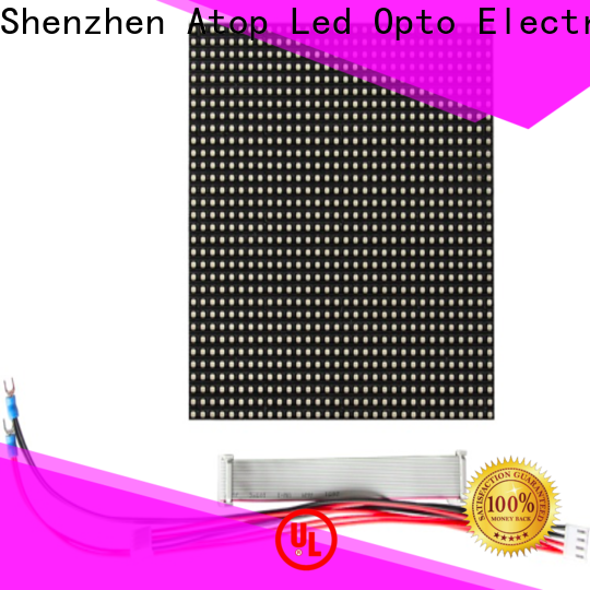 Atop screen 100w led module easy operation for indoor rental led display