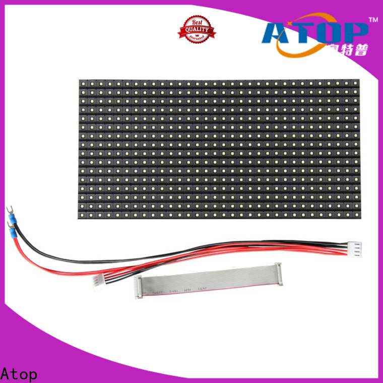 customized full color led module indoor to meet different need for advertising