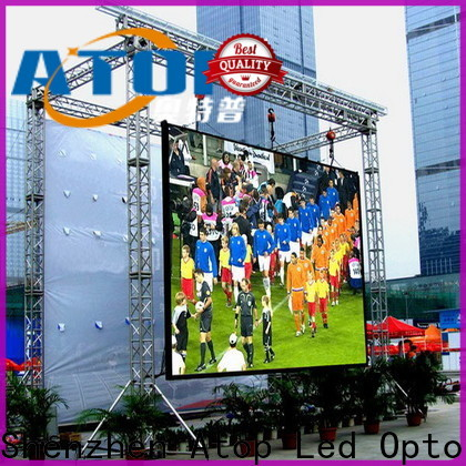 Atop reasonable outdoor led sign on sale for display