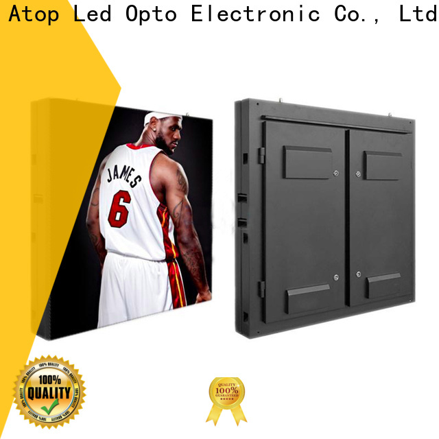 Atop led p6 led screen on sale in market、