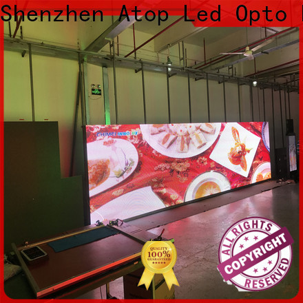 priced-low energy saving led display with high precision for company advertising