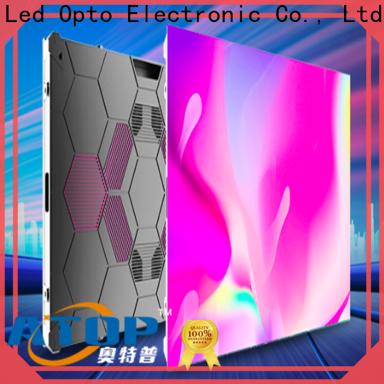 Atop led sign panel suppliers easy maintenance for company advertising