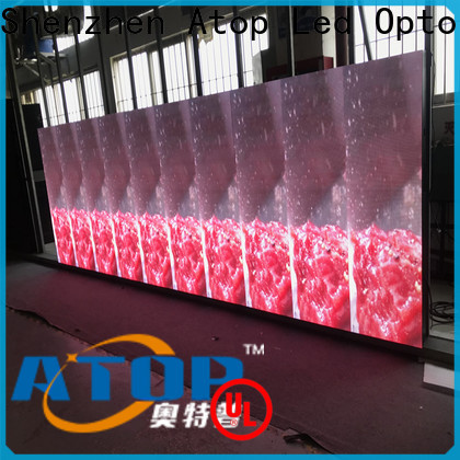 Atop led video wall business with best color uniformity for both outdoor and indoor