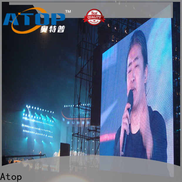 high-strength stadium perimeter led display universality easy maintenance for company advertising