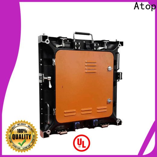 Atop color digital advertising board with high precision for company advertising