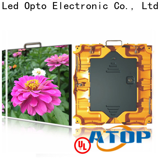 excellent Indoor Rental led Display precision easy assembling for indoor rental led display