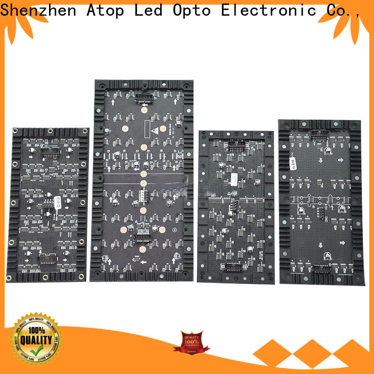 customized flexible led display panels creative easy to assemble for shaped stage background