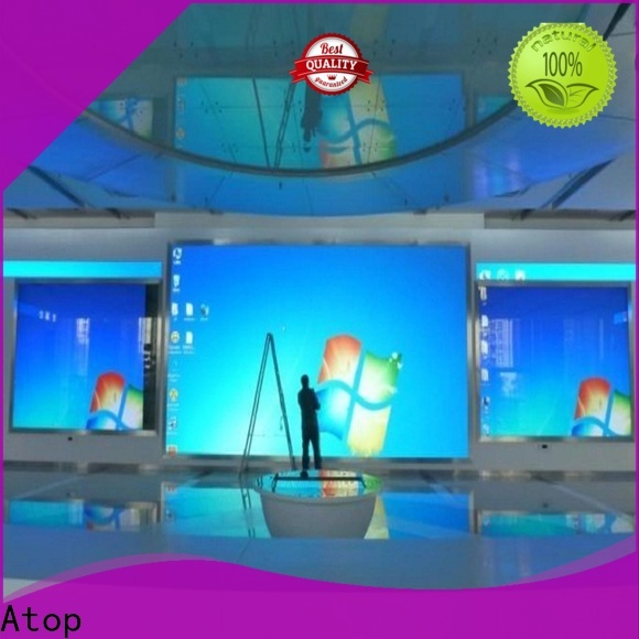Atop fixed indoor led screen with best color uniformity in market