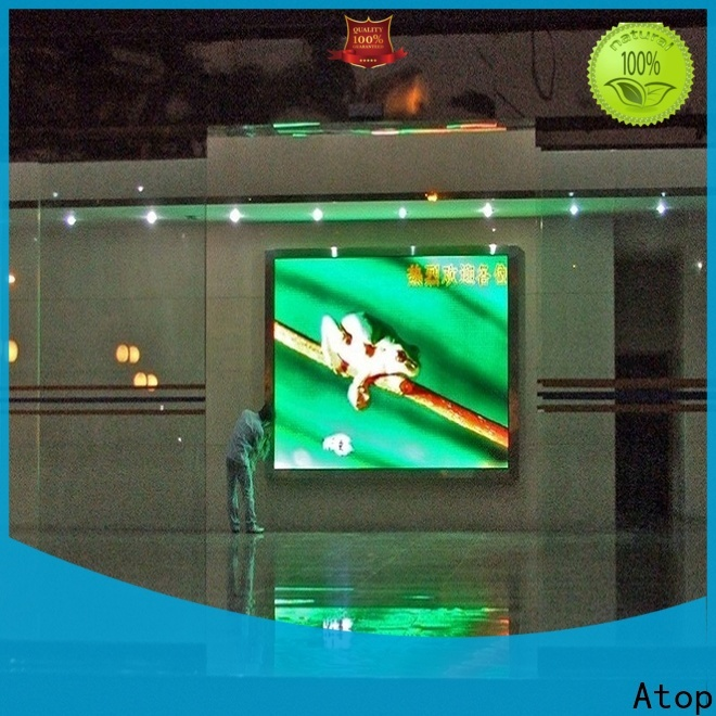 customized electronic sign board mounted with relaible quality for indoor led display
