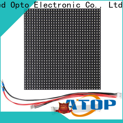 Atop panel high power led module easy operation for advertising