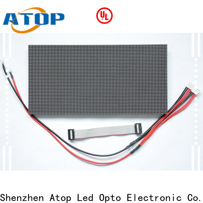 Atop indoor mini led module with relaible quality in market