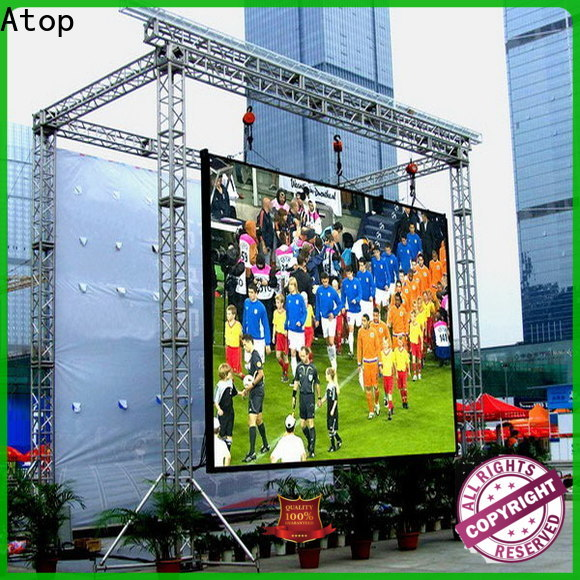 Atop display p10 led display to meet different need in market、