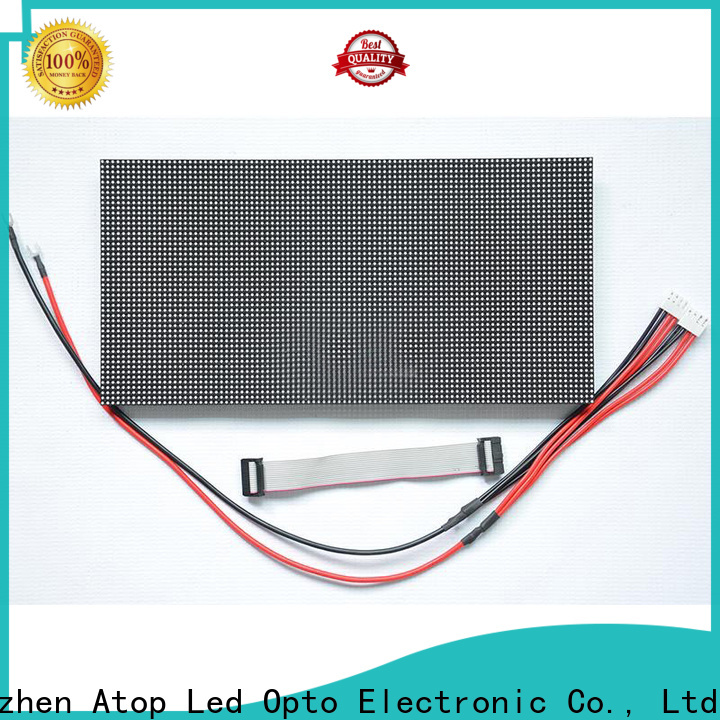Atop online led modules for signs for indoor rental led display