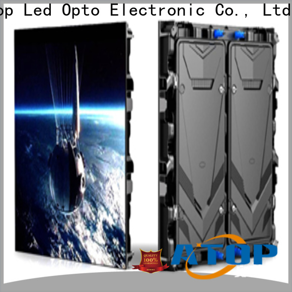 Atop high quality p3 led wall to meet different need for advertising