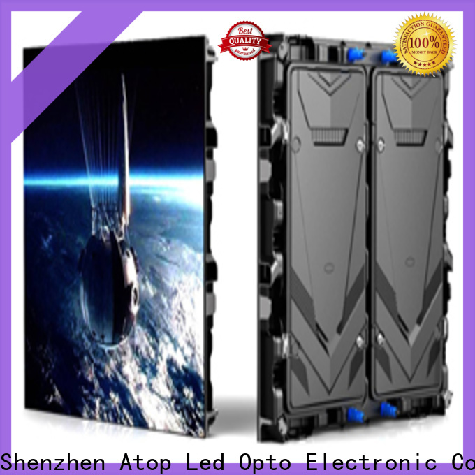 Atop online p8 led display with relaible quality in market、