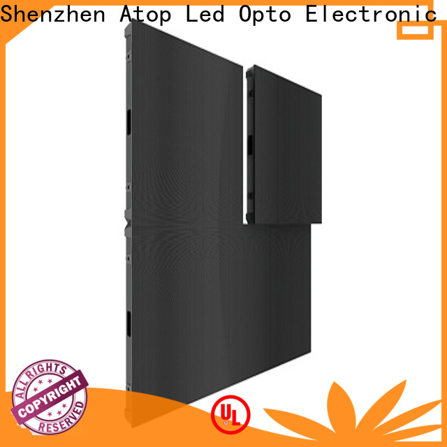 Atop wholesale small pitch led display with high precision for both outdoor and indoor