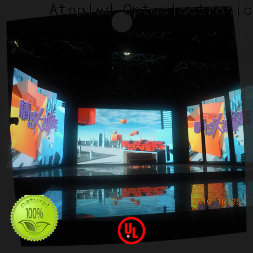 Atop custom video wall rental with high-quality for LED screen
