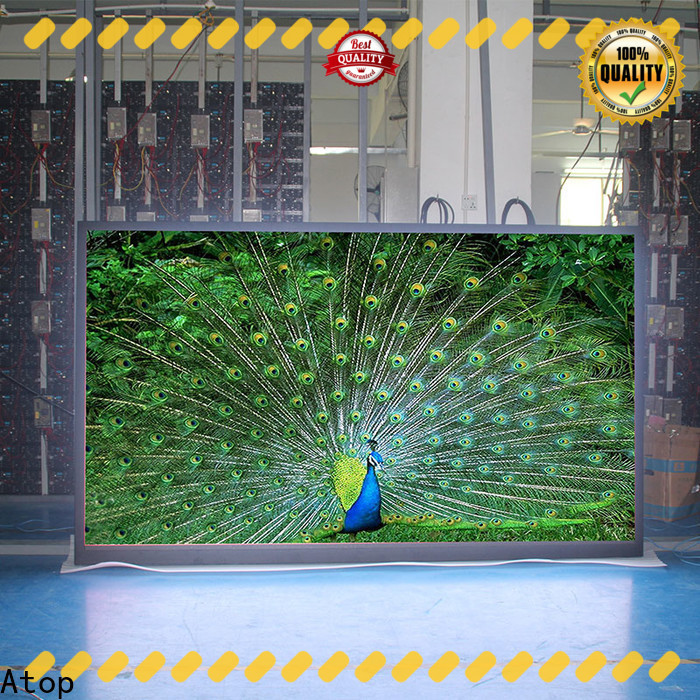 Atop advertising display screen easy assembling for LED screen