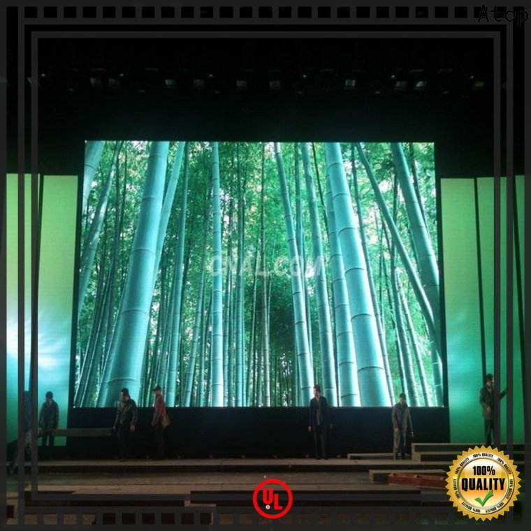 Atop excellent led video screen rental with high-quality for indoor rental led display