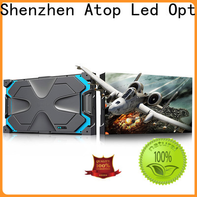 Atop wall indoor led display easy assembling for your led display applications
