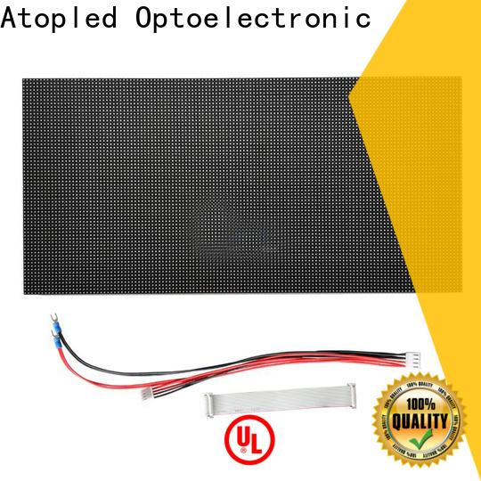 Atop module mini led module for indoor rental led display